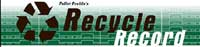 Recycle Record Banner